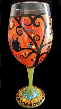 NOVEMBER 9TH WEDNESDAY 7:00 PM IDLE HOUR ***PAINT 2 WINE GLASSES***